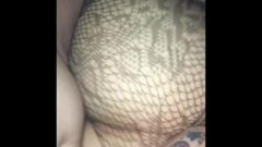 Nailing A Tinder Pawg In Fishnets