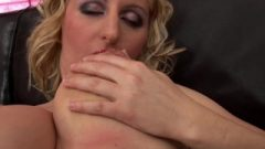 Nice Blonde Rachel In Fishnets – CzechSuperStars
