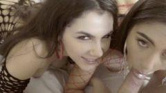 Threesome Massive Asses Banging And Rimjob In Fishnet Valentina Nappi & Trukait
