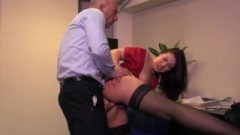 Rectal Intercourse With French Raven Lexie Candy
