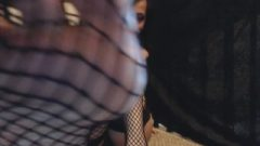Natural Goth Makes You Smell And Lick Her Fishnet Soles