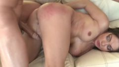 Airerose Little Brunette Lea Lexis Receives Nailed Out On The Couch