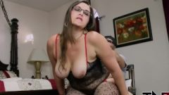 Punishment For Sniffing Stepmoms Panties: Make Mom Spunk